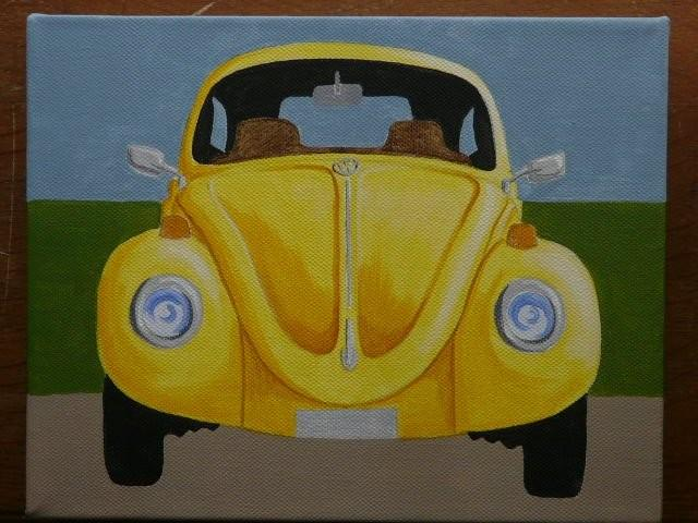 Yellow VW SOLD