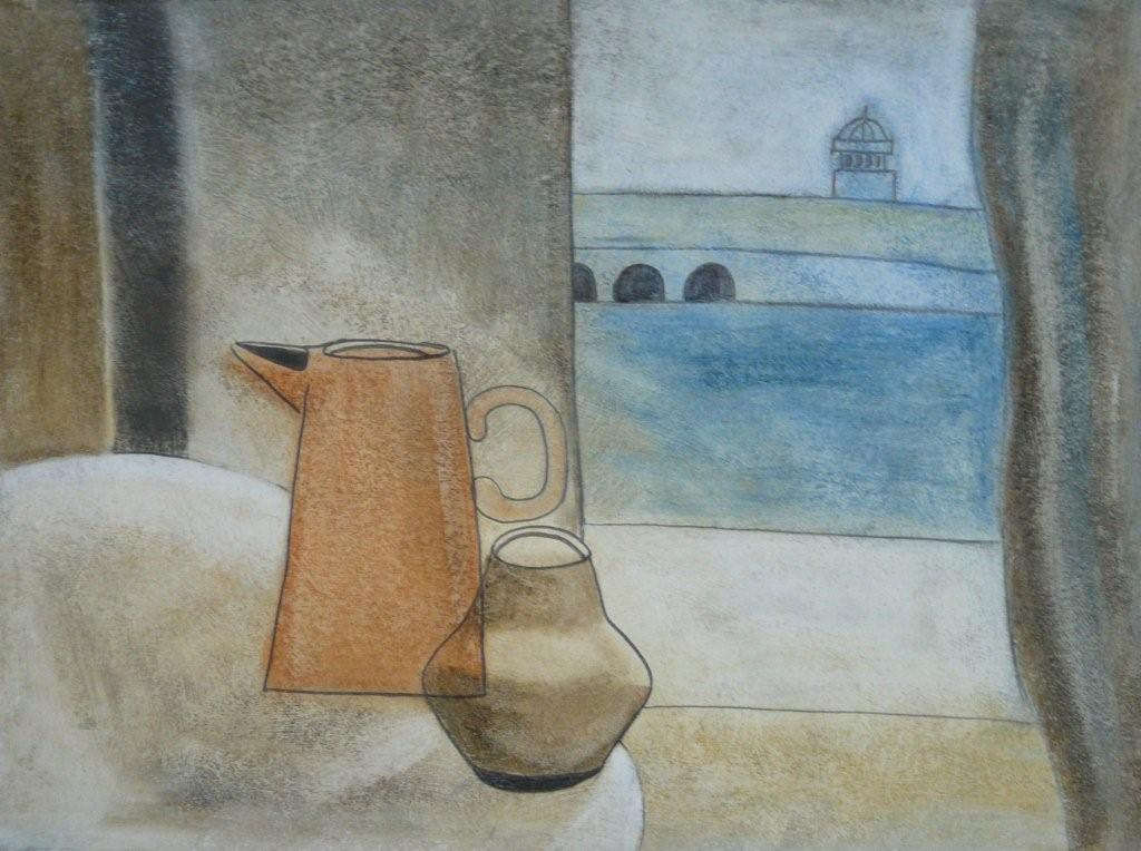 Still Life with Smeaton's Pier