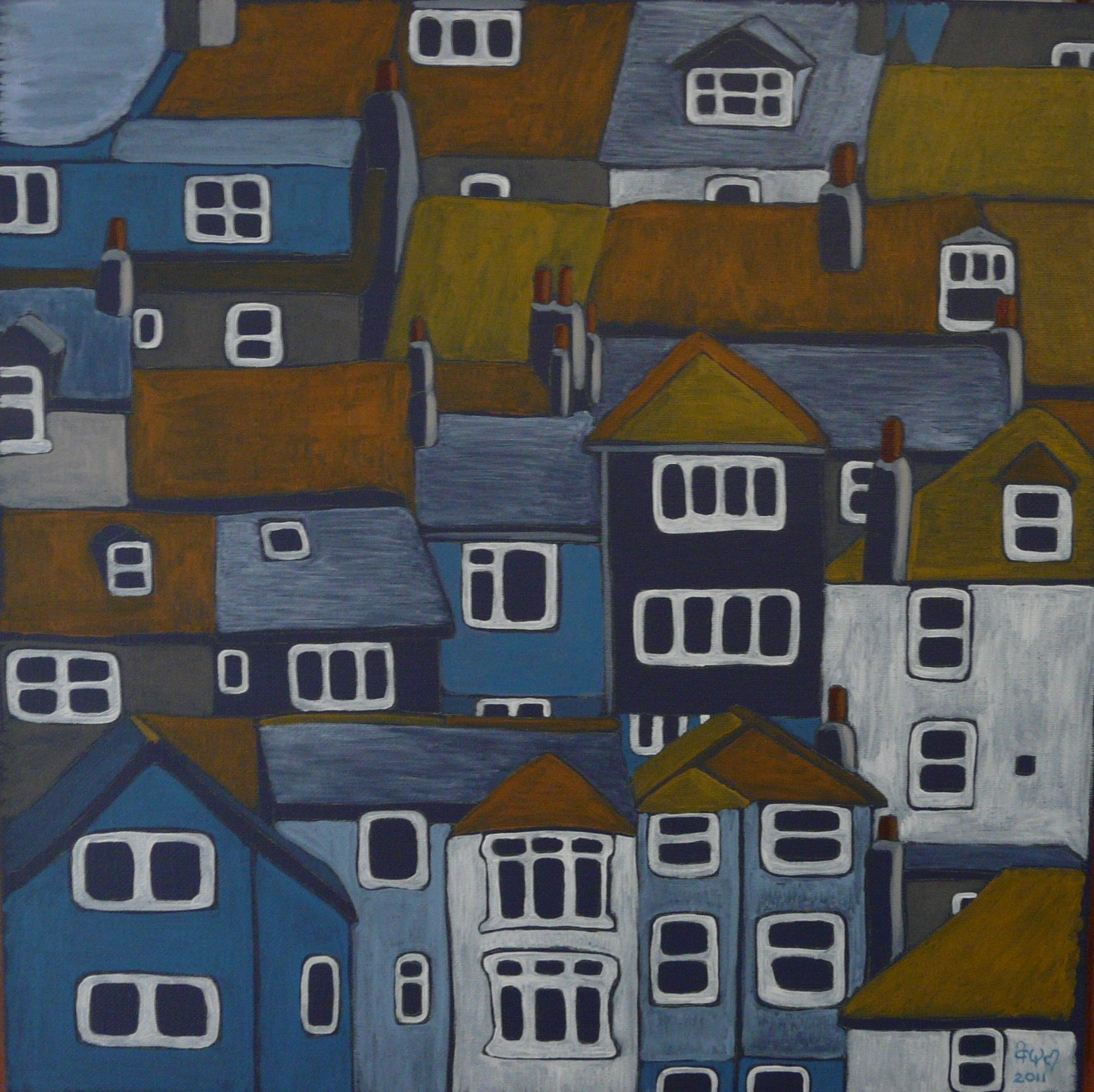 St Ives Rooftops